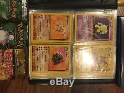Pokemon Cards Huge Lot Ultra Rare First Edition Holographics Pokedex Neo