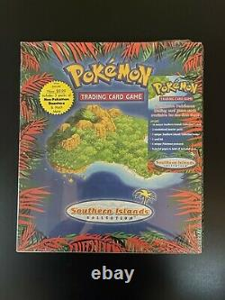Pokemon Cards Southern Islands Collection Full Set SEALED Mint