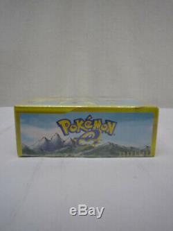 Pokemon Cards e2 TheTownOnNoMap Skyridge Booster Pack Box(FACTORY Sealed) Japan