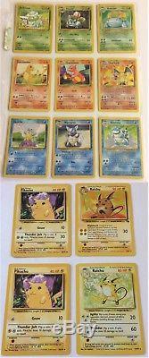 Pokemon Classic Starter Pokemon Charizard Blastoise Venusaur Pikachu