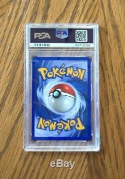 Pokemon Neo Destiny # 112/105 Shining Steelix ultra rare card PSA 10