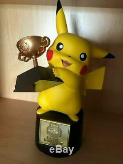 Pokemon Pikachu Trophy World Championships 2015 Semi-Finalist TCG Card Game Rare