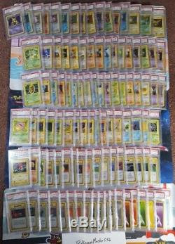Pokemon Psa 10 Complete 103 Card 1st Ed Base Set Charizard Blastoise Venusaur