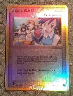 Pokemon REVERSE EX Dragon 88/97 TV Reporter Card NM/M, Extremely Rare