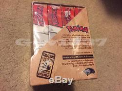 Pokemon SEALED Red Logo Fossil Theme Deck Box Australian Made! TCG Cards RARE