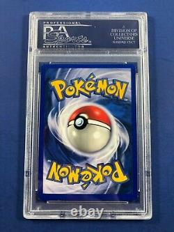 Pokemon Shadowless Zapdos PSA 10 Gem Mint Holo Rare 16/102 Base Set card