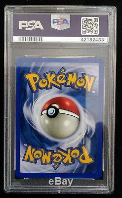 Pokemon Shining Charizard 107 / 105 PSA 10 Secret Rare Holo Card Gem Mint 10