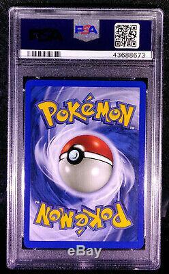 Pokemon Shining Mewtwo 109/105 109 Secret Rare Holo Card PSA 10 GEM MINT 10