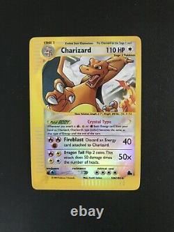 Pokemon Skyridge Charizard Card (146/144) Reverse Holo Rare