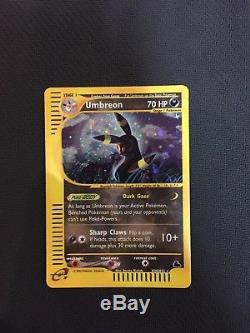 Pokemon Skyridge Umbreon H30/H35 Near Mint Rare Card