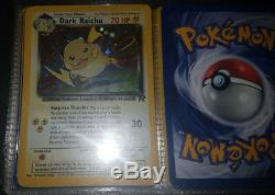Pokemon TCG Complete Base Set, Jungle, Fossil & Team Rocket (Holos & Rare cards)