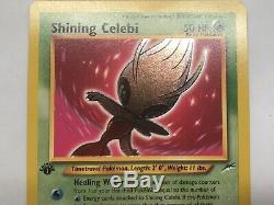 Pokemon TCG Shining Celebi 1st Edition Neo Destiny Mint Ultra Rare Card 106/105