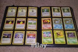 Pokemon Vintage Card Lot Holo Rare Promo Error Base Neo 1st Ed Shadowless WOTC