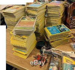 Pokemon card 5000+ card bulk collection nr complete set ultra rare job lot promo