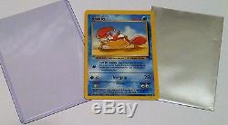 Pokemon card Krabby fossil set ERROR MISPRINT 51/62 RARE Great shape