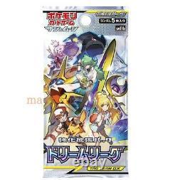 Pokemon card SM11b Dream League 10 packs Japanese