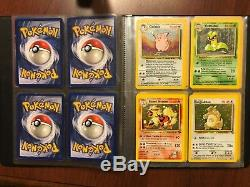Pokemon card charizard 4/102 &40 base set collection rare Holo WOTC wizard cards