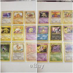 Pokemon cards 1st edition/foil/errors/shadowless/rare lot never played