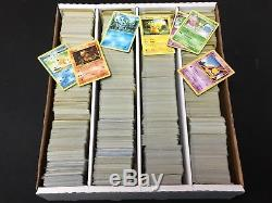 Pokemon lot of 4000+ cards EX GX Holo Rare FOIL Collection Lot POOR with Charizard