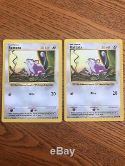 Pokemon rare cards two player original set 102. 60 cards including Machamp