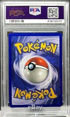 Psa 10 Gem Mint 2000 Pokemon Black Star Promo Eevee Holo Card Wotc #11