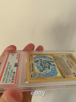 Psa 9 Mint Pokemon 1999 1st Edition Base Set Machamp Holo Card Wotc #8/102