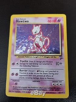 RARE original 1995 MewTwo pokemon card. 10/130