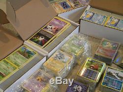 Rare Holo Pokemon Card Lot 5000 Cards! Charizard Common Uncommon Bulk Lots