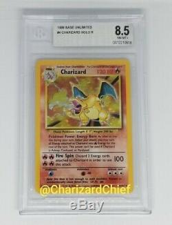 Rare Mint Charizard Holo 1999 Original Base Set Collection 4/102 Psa Foil Card