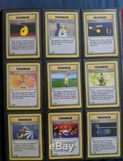 Rare Near Mint Complete 1st Edition Shadowless Base Set Cards 17-102 First Ed