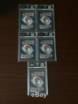 Rare Pokemon Cards Complete Set Holo PSA Pokemon Base Set 2 WOTC Original