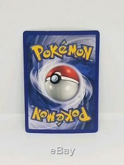 Rare Shadowless Blastoise Base Set Pokemon Card Rare Holo 2/102 Original Foil