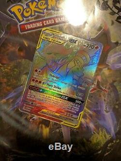 Reshiram & Charizard GX 217/214 Secret Rare Card Unbroken Bonds