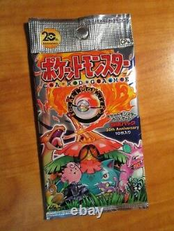Sealed JAPANESE Pokemon CP6 20th ANNIVERSARY Set Card Booster Pack XY Base BREAK