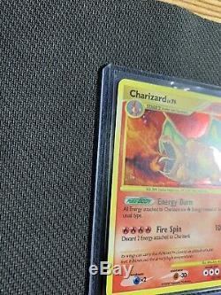 Secret Rare Charizard 103/100 Charmeleon And Charmander Pokemon Card Stormfront