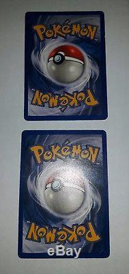 Shadowless Venusaur Base Set & shadowless blastoise Holo pokemon cards very rare