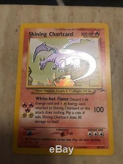 Shining Charizard 107/105 Holo Rare Unlimited Neo Destiny -Pokemon Card