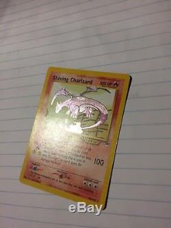 Shining Charizard 107/105 Neo Destiny Pokemon Card NEAR MINT/MINT Ultra Rare