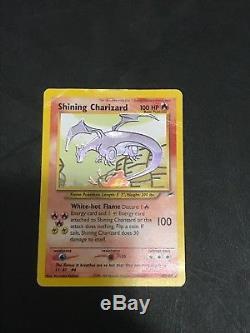 Shining Charizard Neo Destiny 107/105 Holo Rare Pokemon Card Triple Star