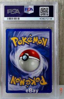 Shining Charizard Secret Rare Pokemon Card 107/105 Neo Destiny Set PSA 9 MINT