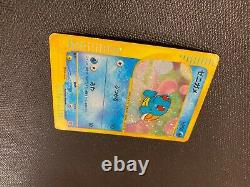 Squirtle Pokemon Card 007/018 Mcdonalds promo Very Rare 2002 Japanese F/S