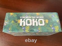 Swallowed Up Pikachu 105/S-P Sealed Box Cramorant Pokemon card Movie KOKO Promo