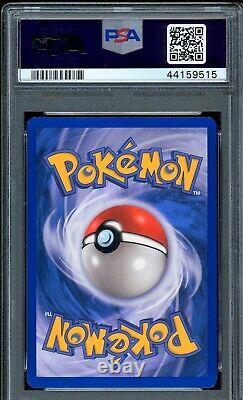 Swampert EX Holo Rare 2006 Pokemon Card 98/100 Crystal Guardians Set PSA 9 MINT
