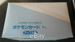 TOPSUN 1995 JAPAN Pokemon BOOSTER BOX 1st Printed Pks/Cards Ever Mint/Near Mint