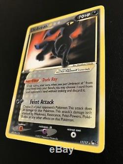 Umbreon Gold Star 17/17 POP Series 5 Ultra Rare Pokemon Card Near Mint
