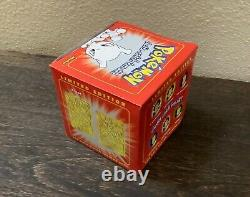 Unopened Pokemon 23K Gold Plated Collectable PokeBalls Cards Set Of 6 BurgerKing