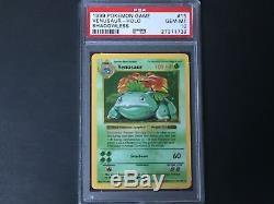 Venusaur Shadowless PSA 10 Base Set Rare Pokemon Holo Card POP 50