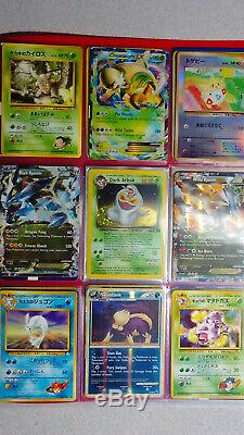 Vintage & New Pokemon Binder 108 Card Collection Lot Chardizard Rares & Holos