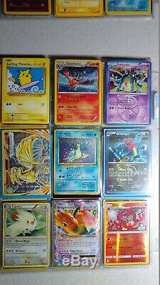 Vintage & New Pokemon Binder 300+ Card Collection Lot Chardizard Rares & Holos