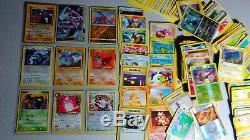 Vintage & New Pokemon Binder 400+ Card Collection Lot Chardizard Rares & Holos